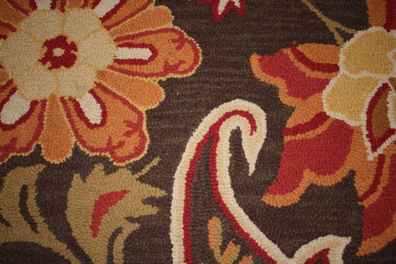 Entry Rug Close Up