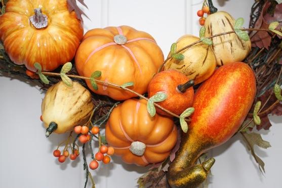 Fall Wreath Closeup