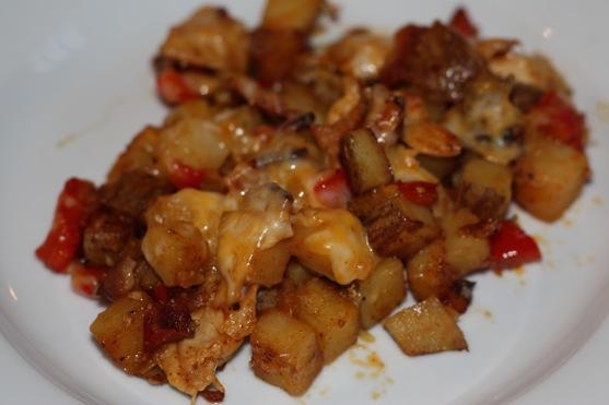 Cheddar Chicken Potatoes