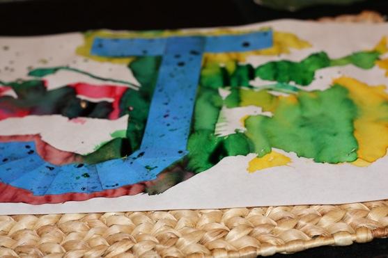 Watercolor Initials 1