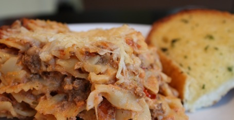Ricotta Pasta Casserole