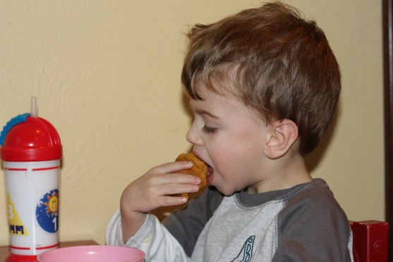 Whole Wheat Pumpkin Muffins 1
