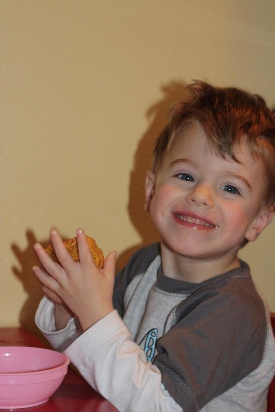 Whole Wheat Pumpkin Muffins 3
