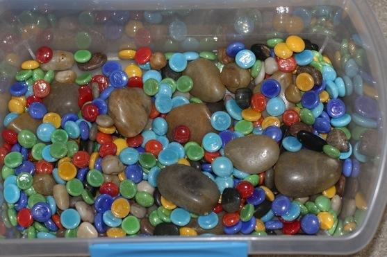 Rock Sensory Tub