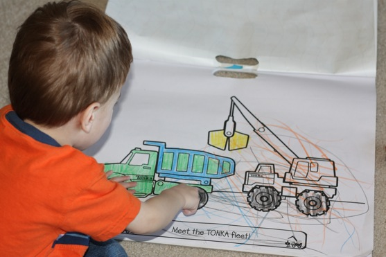 Tonka Coloring Book
