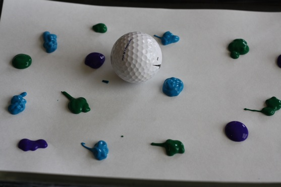 Golf Ball Painting 2