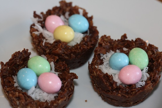Un-baked Cookie Nests