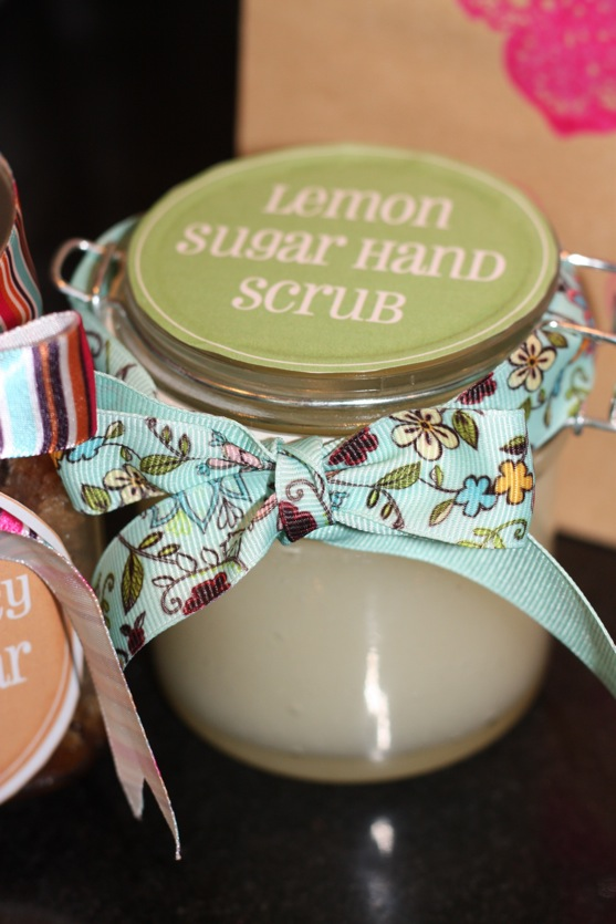 Lemon Sugar Hand Scrub