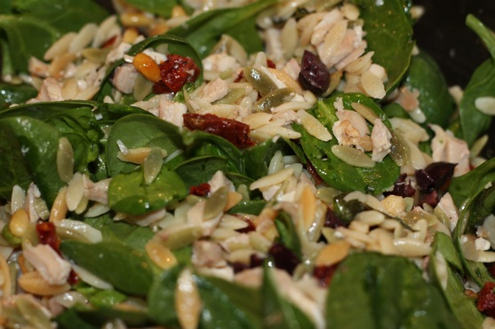 ... and Orzo Salad With Sun-Dried Tomatoes and Pine Nuts | The Picky Apple