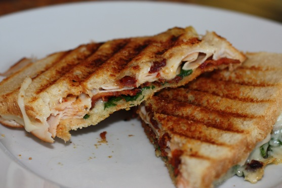 panini panini grill your bacon turkey cranberry brie and bacon panini ...
