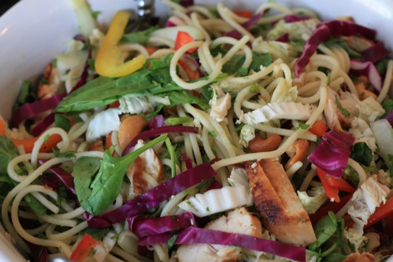 Asian Noodle Salad | The Picky Apple