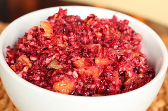 Cranberry Orange Relish | The Picky Apple