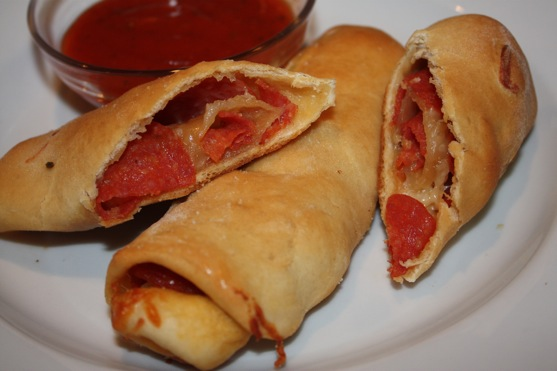 Pepperoni rolls the picky apple