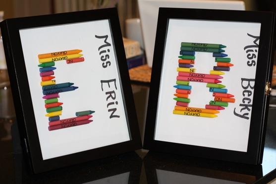 Crayon Monograms