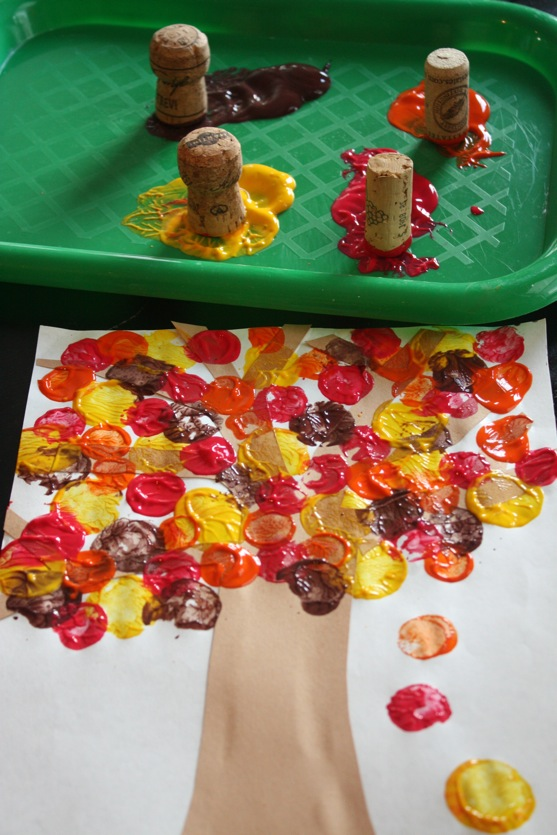 fall painting activity