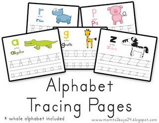 ... for tot/preschool printables? Do you use printables regularly